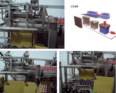 跌落式装箱机_SCL-B PET瓶自动包装装箱机